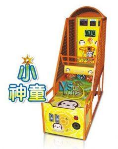 小神童籃球機 (街機籃球機系列) 兒童 大型電玩機販售 寄檯規劃 活動租賃