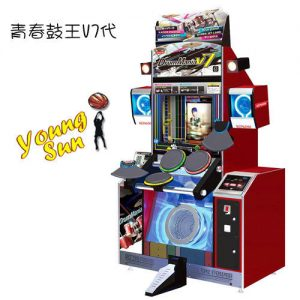 青春鼓王 V7 ( 街機音樂跳舞類系列 ) 太鼓達人 打擊遊戲 機台買賣