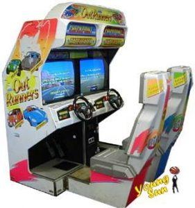 out runners環遊世界 賽車遊戲 世嘉 SEGA 大型電玩機台買賣/租賃