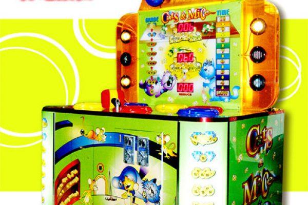打地鼠機 打擊遊戲 貓抓老鼠 打地鼠遊戲 大型電玩機租賃 活動租賃 ─ 陽昇國際