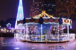 豪華旋轉木馬 20人座 新北市歡樂耶誕城 遊樂園 聖誕節 活動租賃