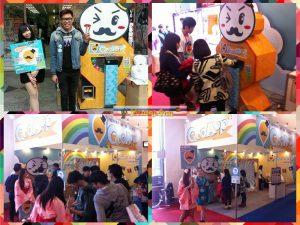 香港遊戲公司 大型扭蛋機租賃 活動包圖 客製化機檯 世貿展場出租