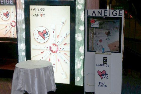 LANEIGE 蘭芝 專櫃活動 客製化夾娃娃機 陽昇國際