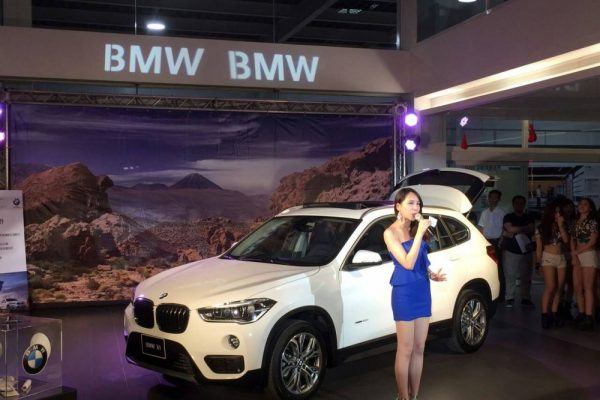 BMW 台北尚德 全新BMW X1玩樂發表會 神槍手射擊機 活動機台租賃 客製化 陽昇國際