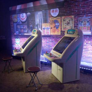 君品酒店 手遊 發表會 懷舊 復古 遊戲 機台 OKBABY