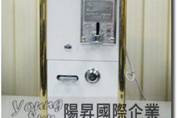 中古木箱計時箱 投幣式 計時箱 電腦 洗衣機 烘乾機 吹風機 各式電器用品皆可使用投幣控制電源器