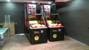 健身工廠 健身房 運動 打籃球 籃球機 陽昇國際