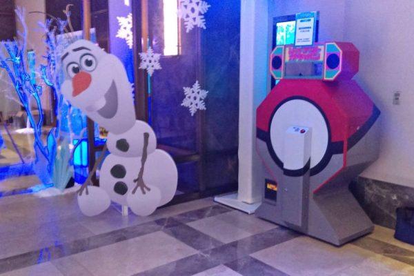 大飯店 音樂饗宴活動 兒童鋼琴發表會 冰雪奇緣 雪寶 扭蛋機