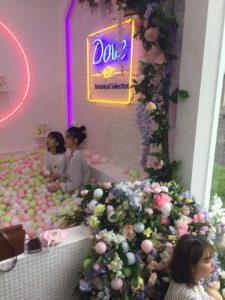 台北華山 多芬 Dove 品牌見面會  白色娃娃機 夾娃娃機 客製化包機 繽紛球池 野餐 陽昇國際